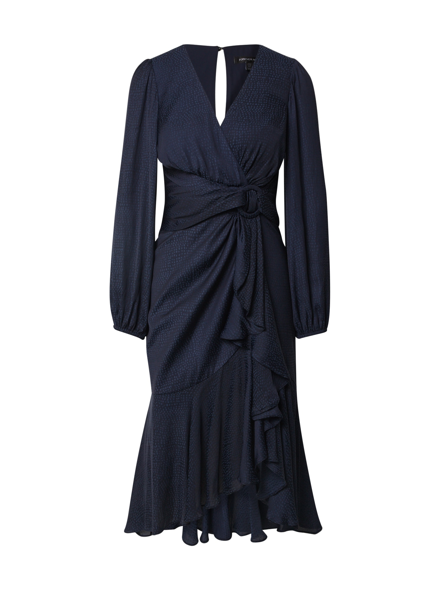 Forever New Vasarinė suknelė 'Lilian Balloon Sleeve' tamsiai mėlyna