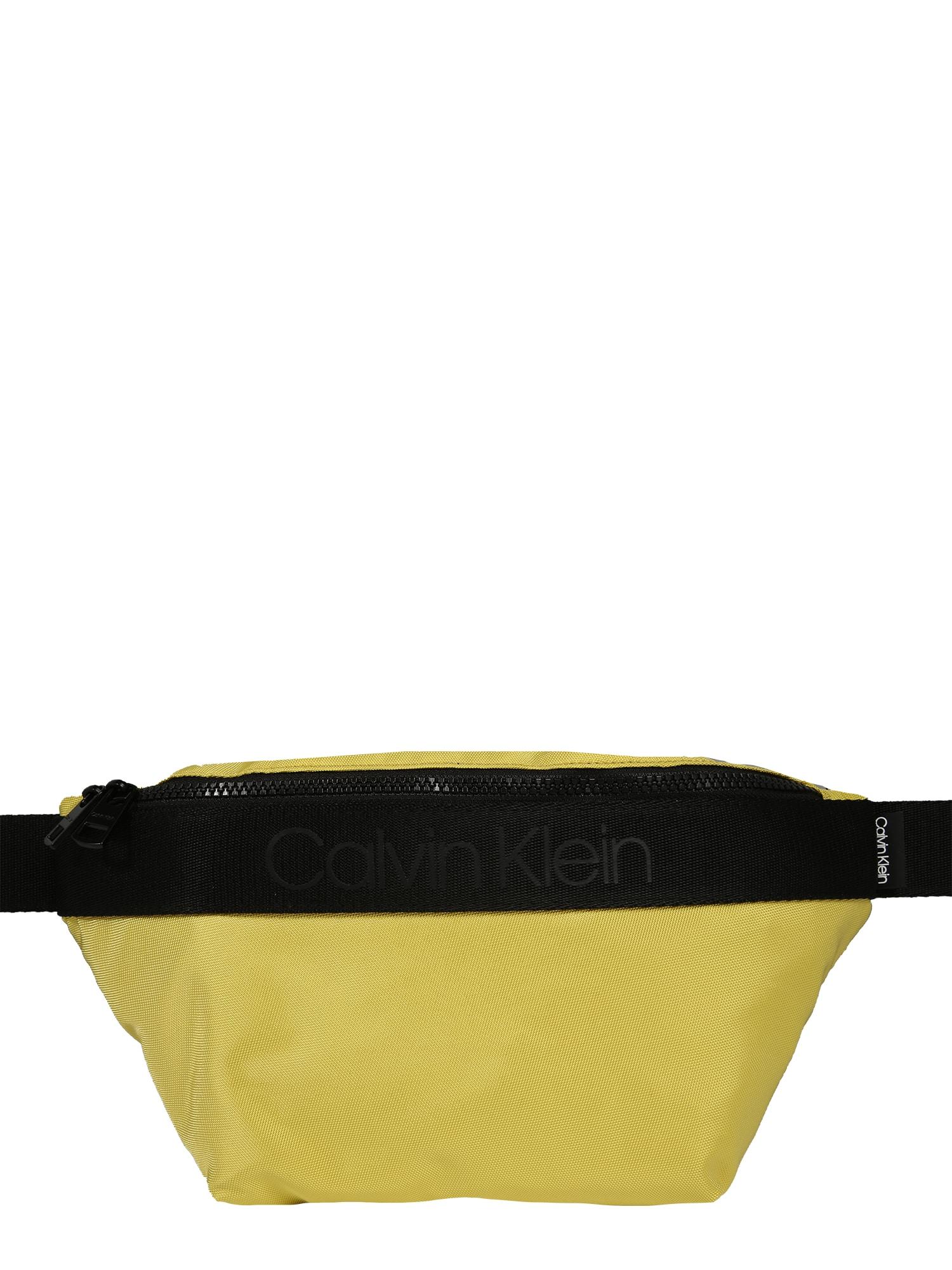 Calvin Klein Rankinė ant juosmens geltona
