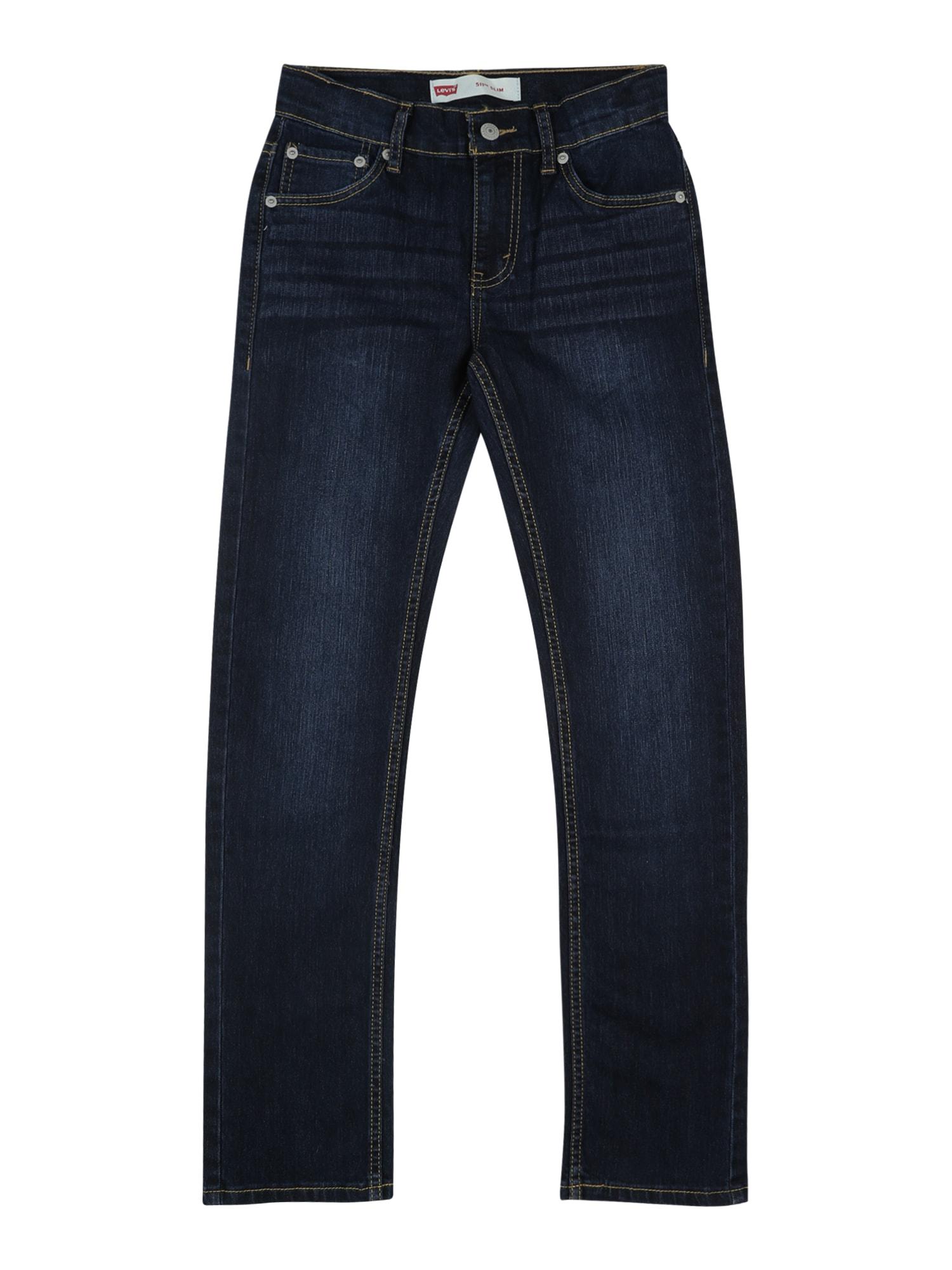 LEVI'S Džinsai '511 Slim Fit' juodo džinso spalva