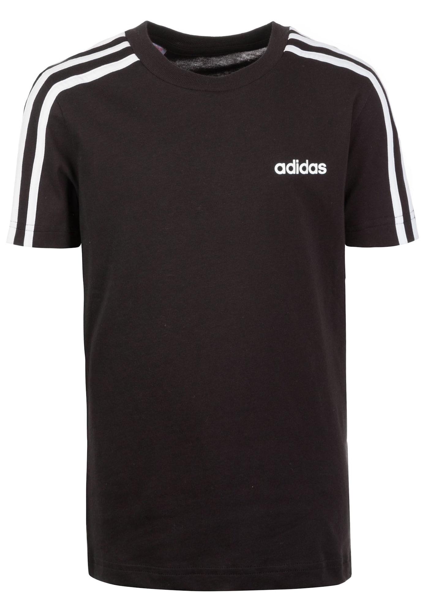 ADIDAS PERFORMANCE Sportiniai marškinėliai 'Essential' balta / juoda