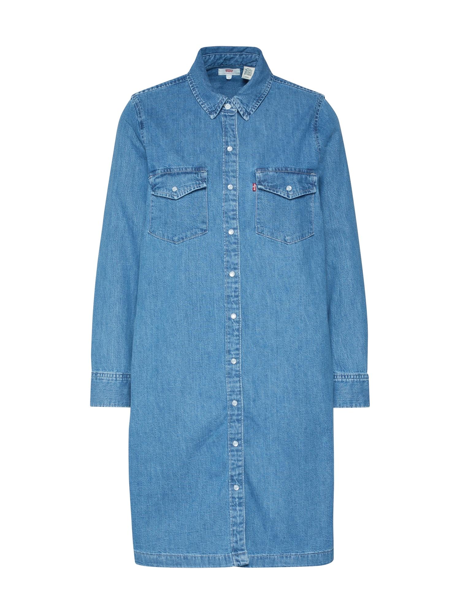 LEVI'S Suknelė 'SELMA DRESS' tamsiai (džinso) mėlyna