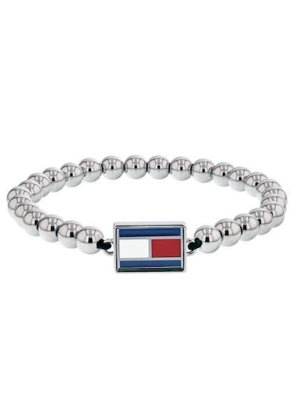 Armbaender für Frauen - Armband 'Classic Signature' › Tommy Hilfiger › grau  - Onlineshop ABOUT YOU