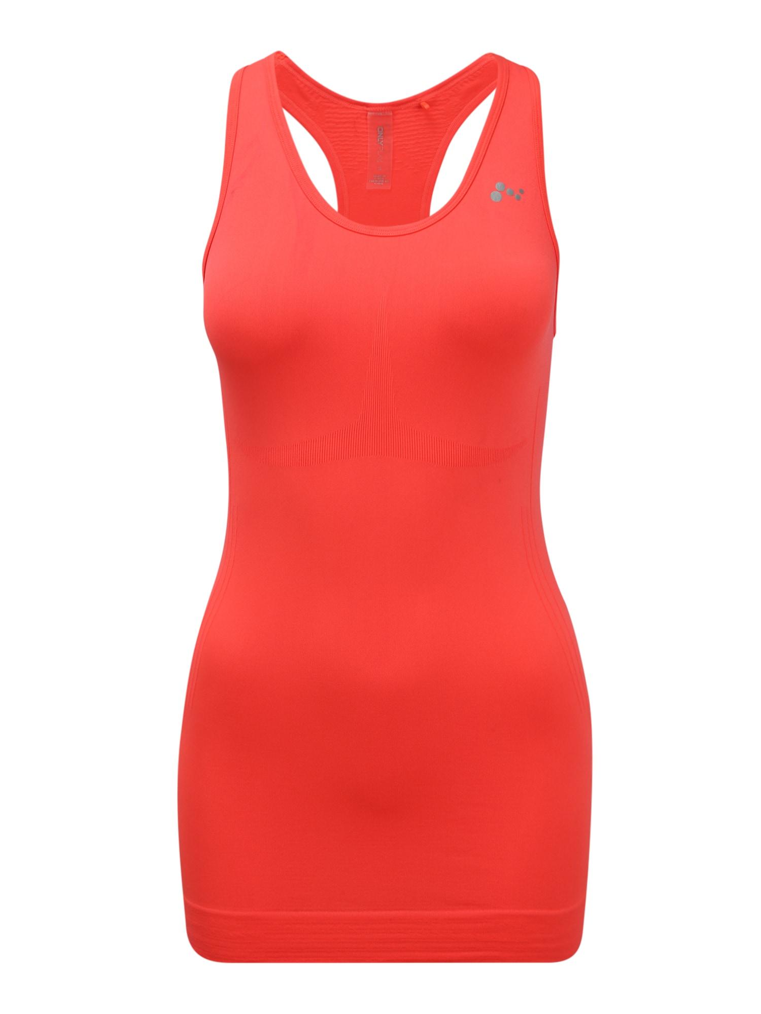 ONLY PLAY Sportovní top 'Jase'  oranžově červená