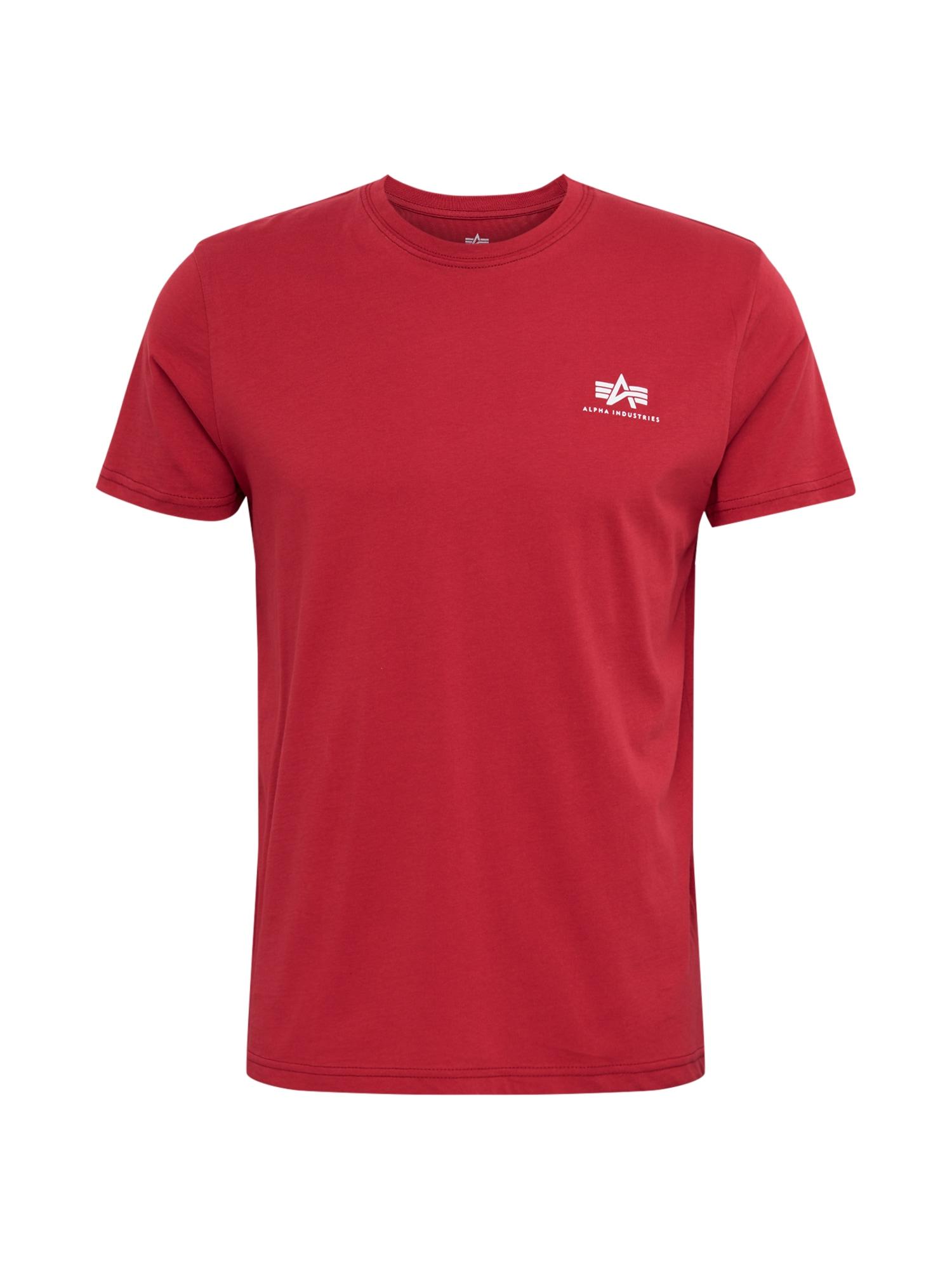 ALPHA INDUSTRIES Marškinėliai raudona