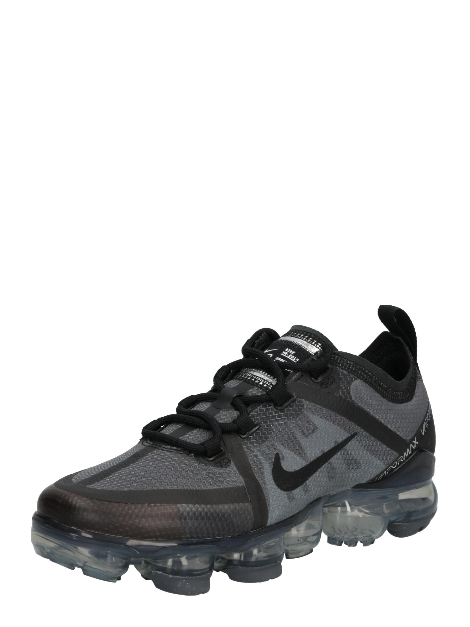 Nike Sportswear Sportbačiai 'Air Vapor Max' juoda / margai pilka