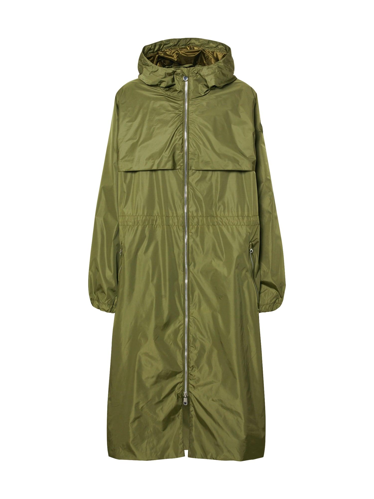 SAVE THE DUCK Rudeninis-žieminis paltas 'GIUBBOTTO CAPPUCCIO' tamsiai žalia