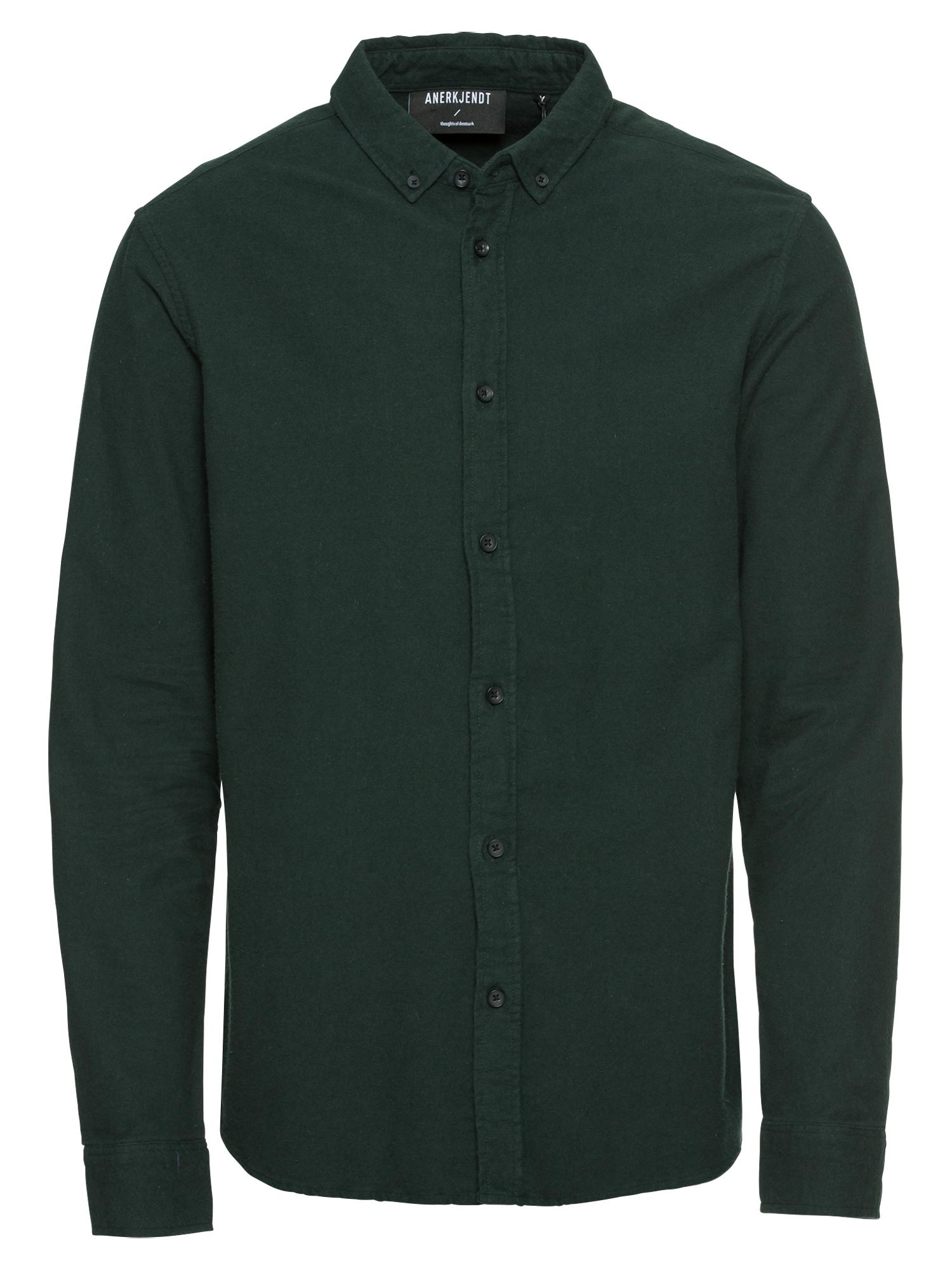 Košile Konrad tmavě zelená Anerkjendt