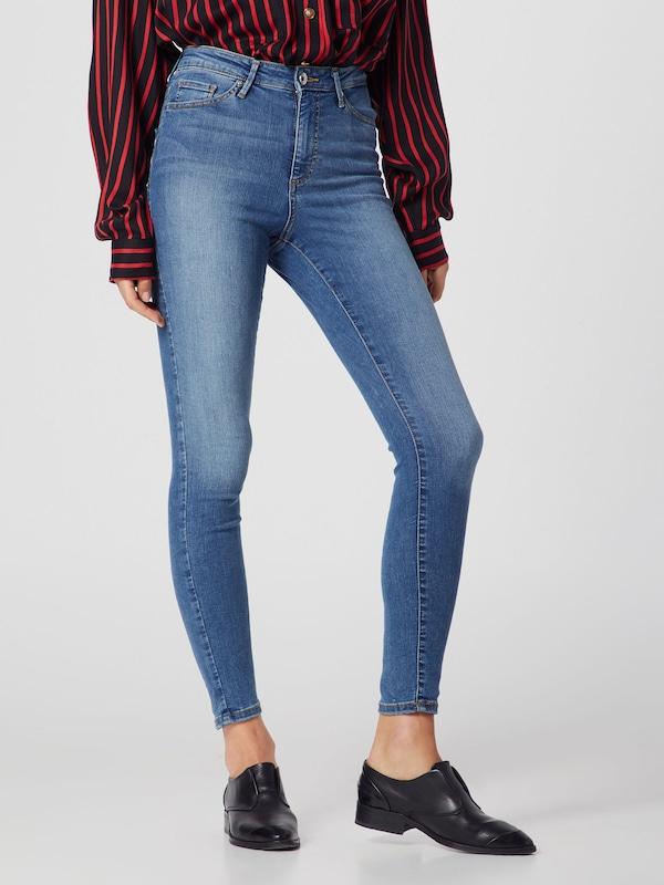 Vero Moda Sophia Blaue Skinny Jeans mit hoher Taille