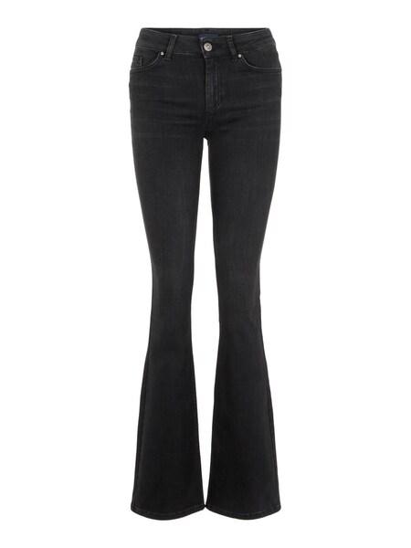 Hosen - Jeans › PIECES › black denim  - Onlineshop ABOUT YOU