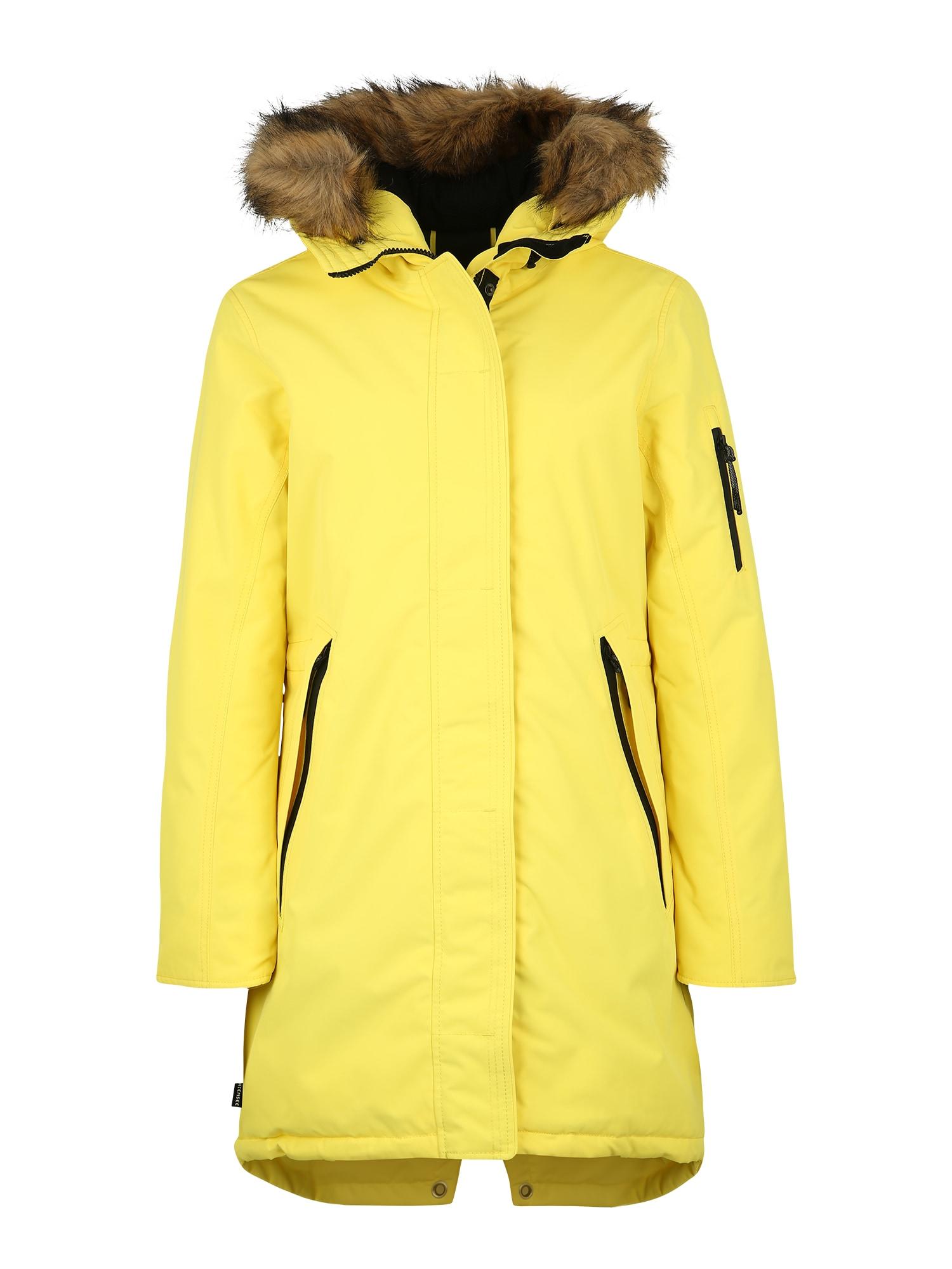 CHIEMSEE Outdoorová bunda  žlutá