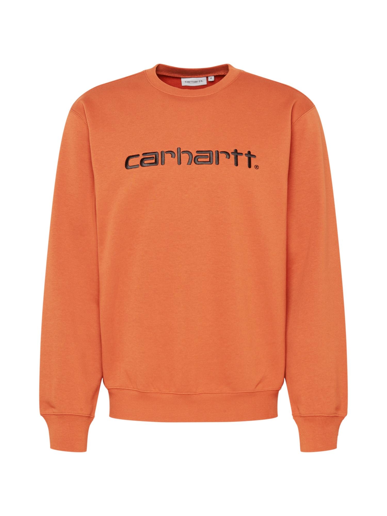 Carhartt WIP Mikina  oranžová