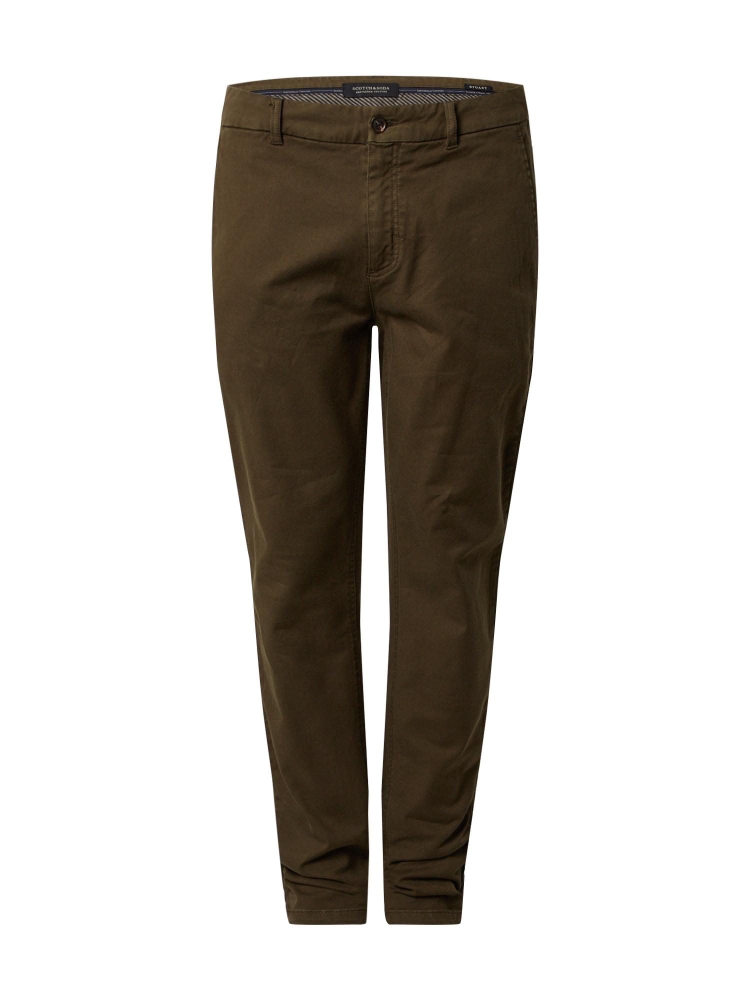 SCOTCH & SODA Chino kalhoty 'STUART'  khaki