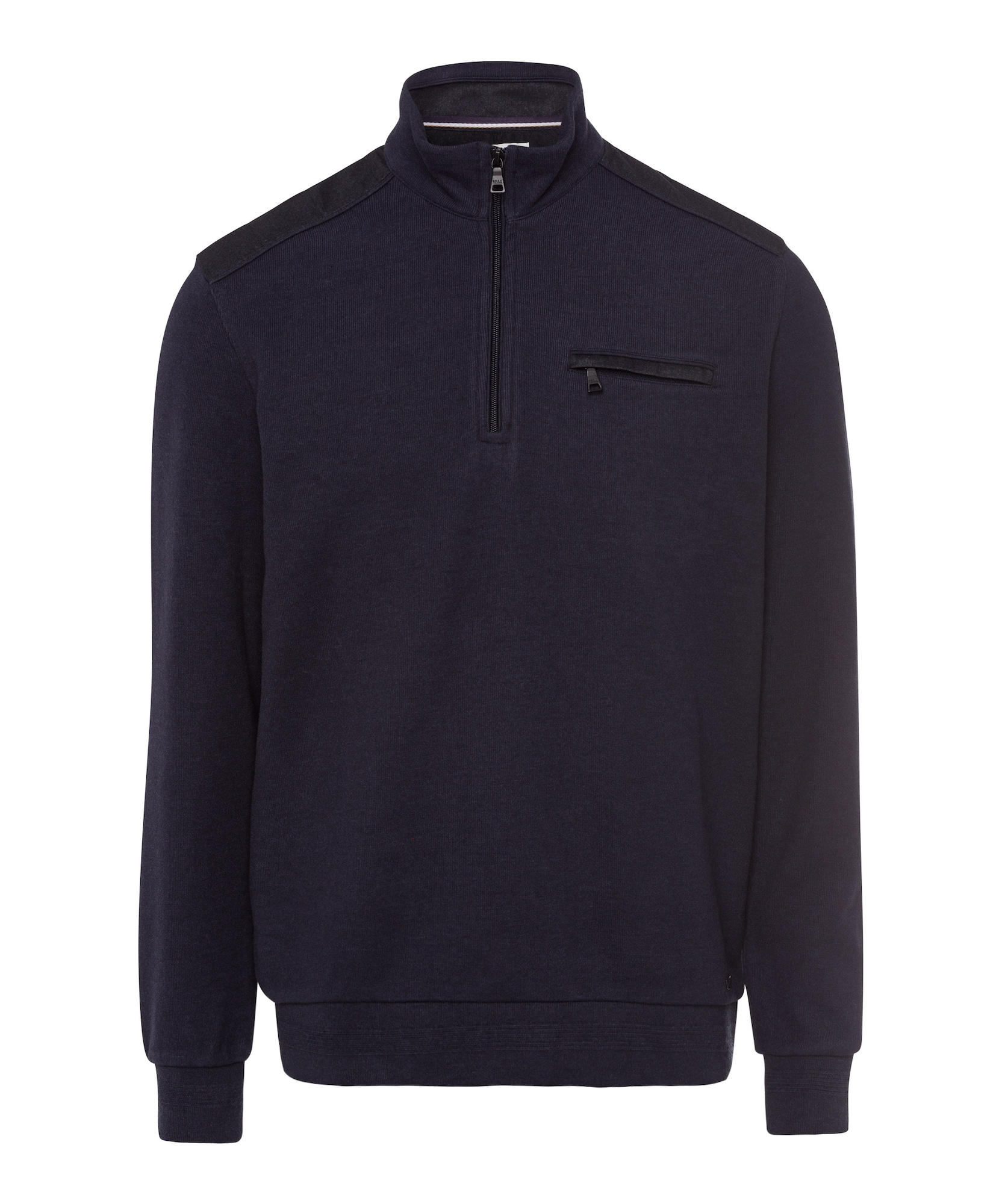 BRAX Megztinis 'Style Siro' tamsiai mėlyna