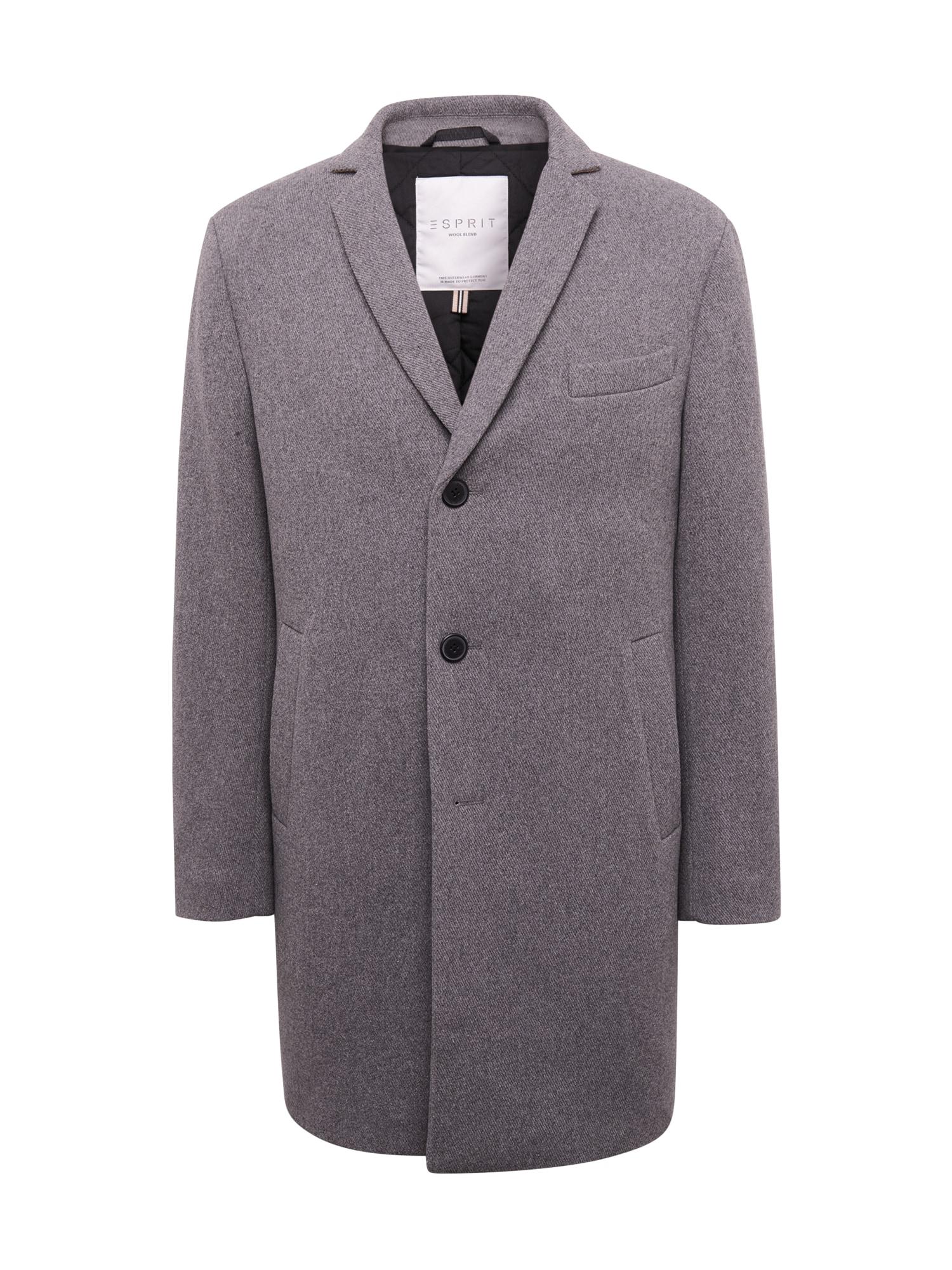 ESPRIT Žieminis paltas pilka