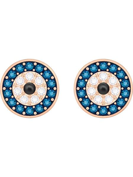 Ohrringe für Frauen - Swarovski Ohrstecker 'Cry Wishes' himmelblau gold weiß  - Onlineshop ABOUT YOU