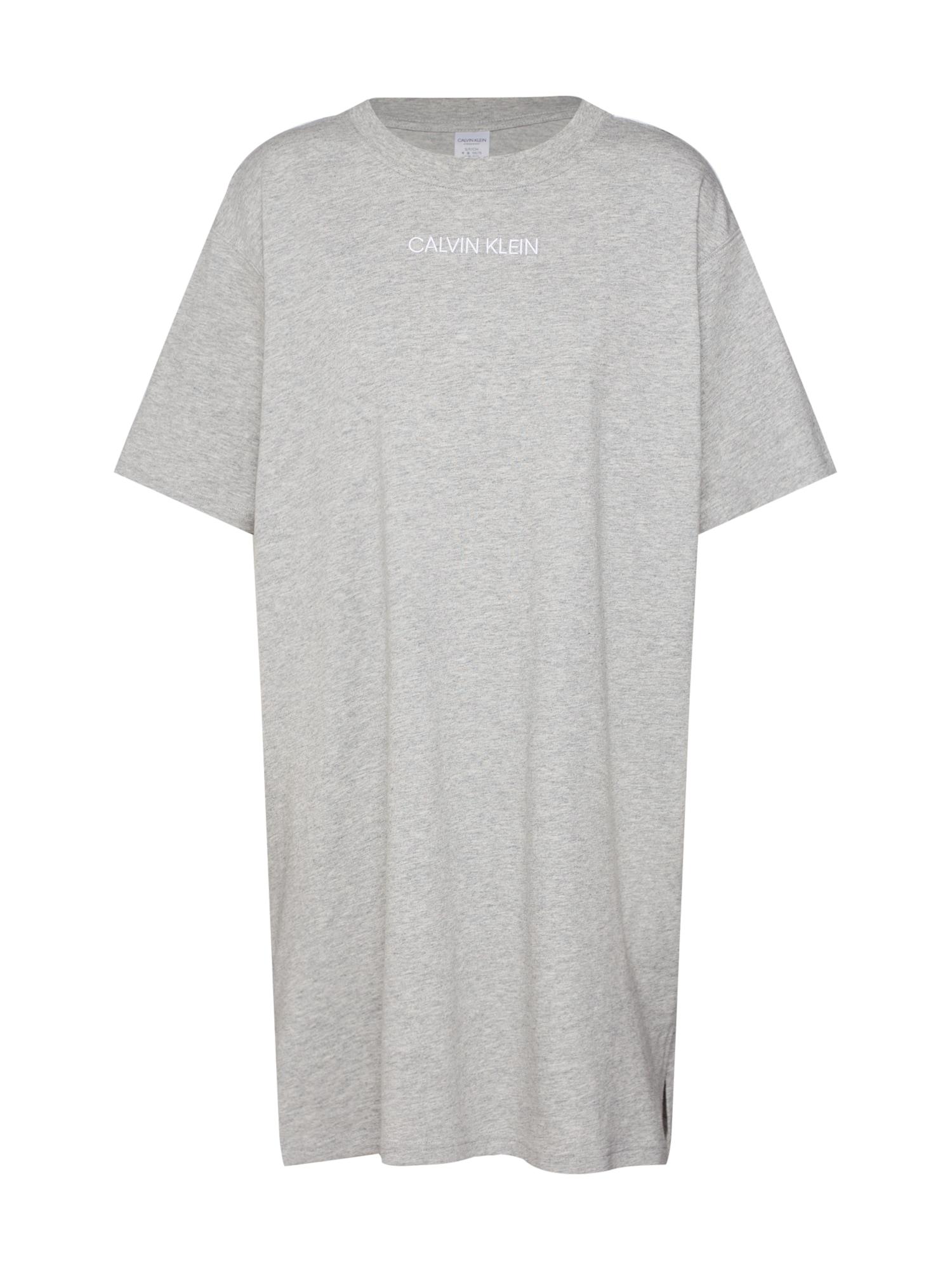 Noční košilka šedá Calvin Klein Underwear