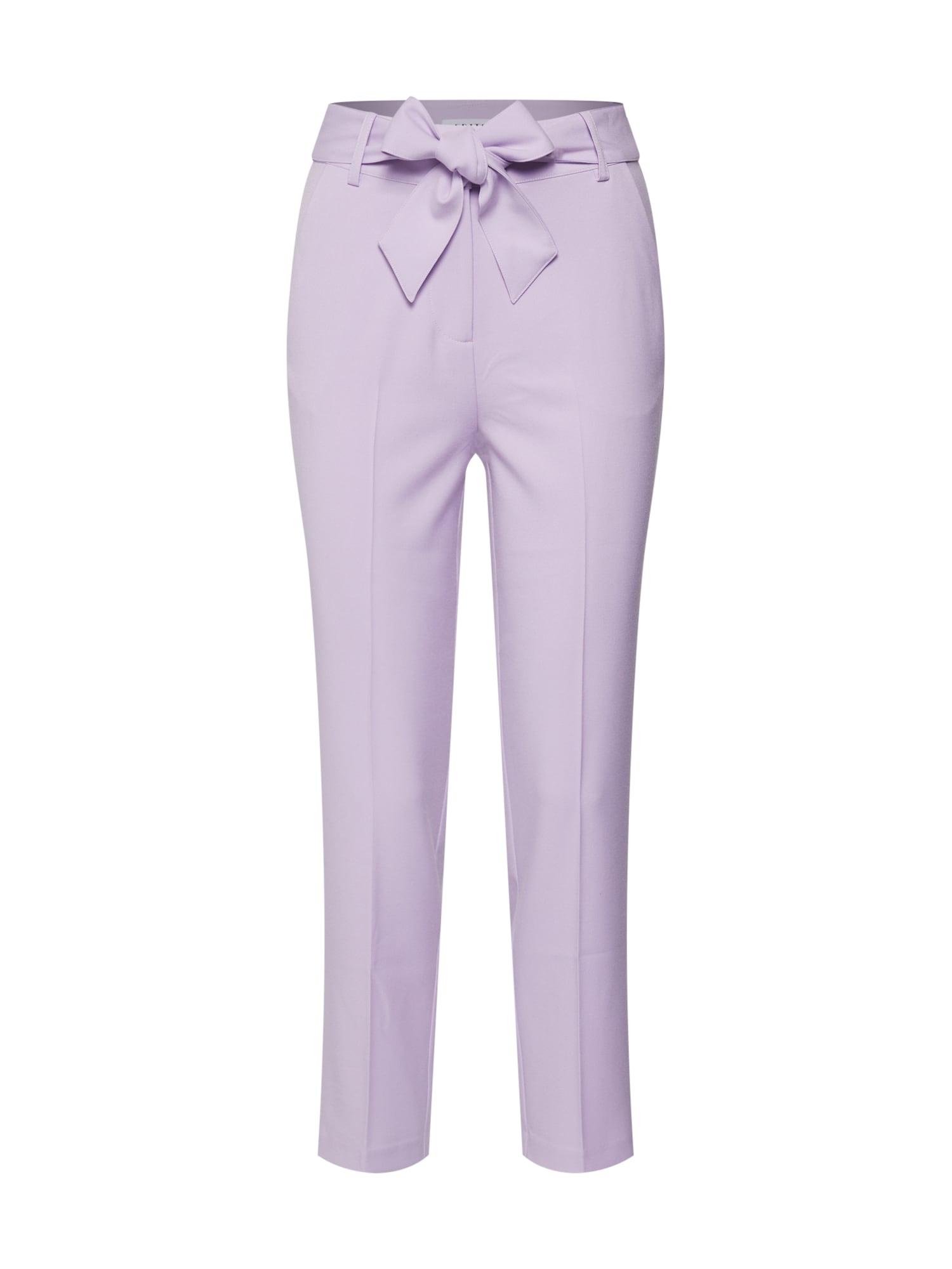 EDITED Kelnės su kantu 'Bobby' purpurinė