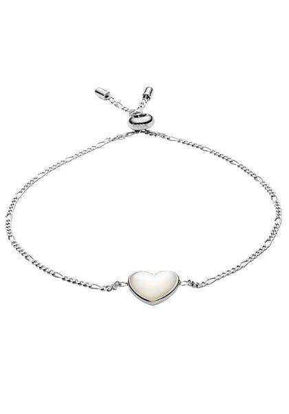 Armbaender für Frauen - FOSSIL Silberarmband 'Herz' silber  - Onlineshop ABOUT YOU
