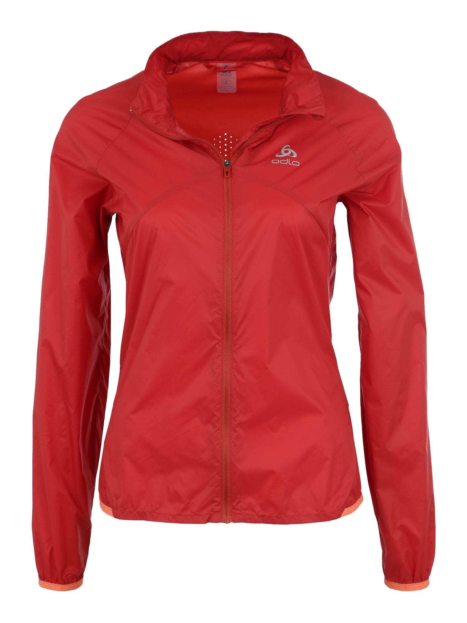 Outdoorová bunda OMNIUS červená ODLO