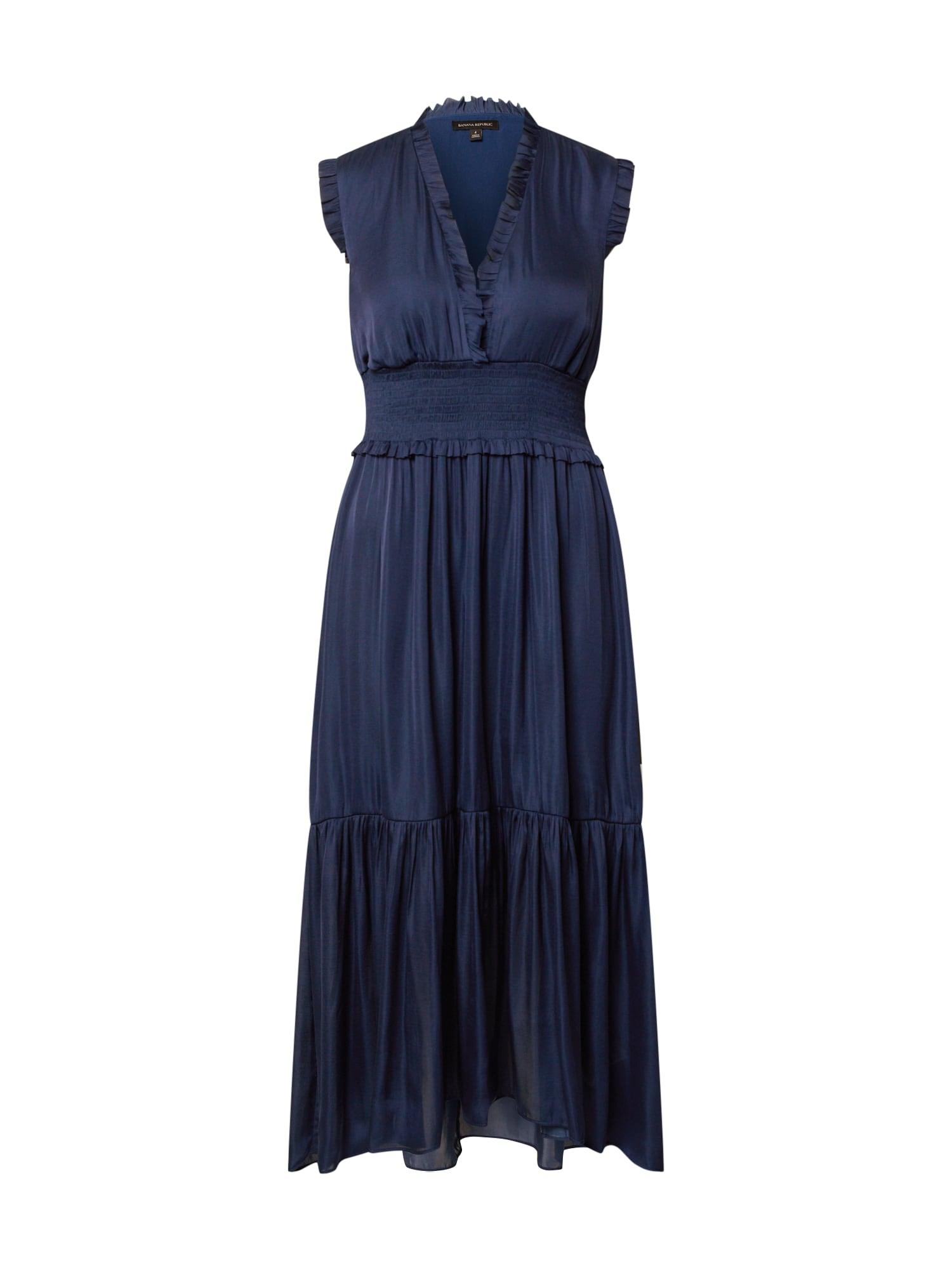 Banana Republic Vakarinė suknelė tamsiai mėlyna