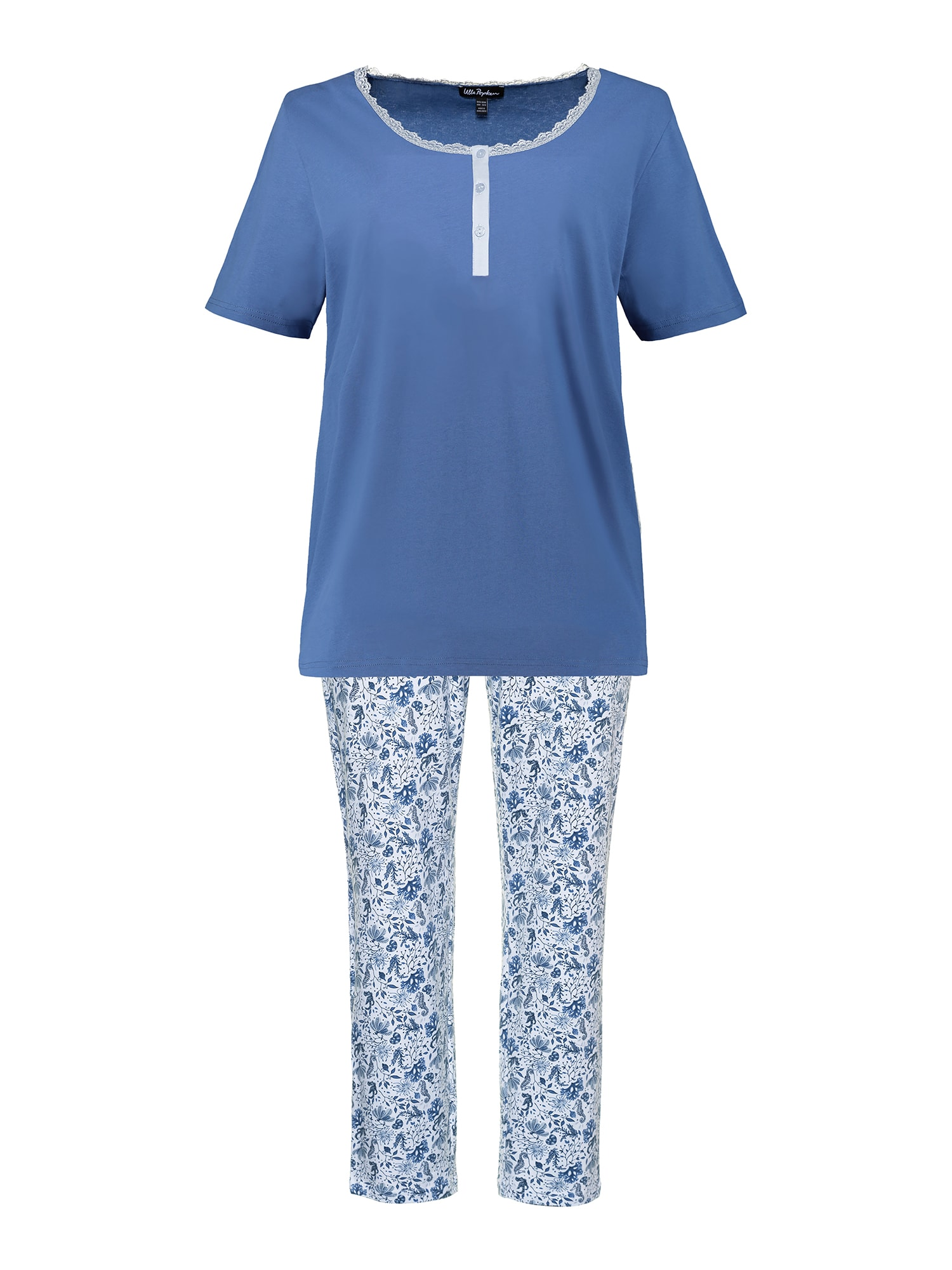 Pyžamo mix barev Ulla Popken
