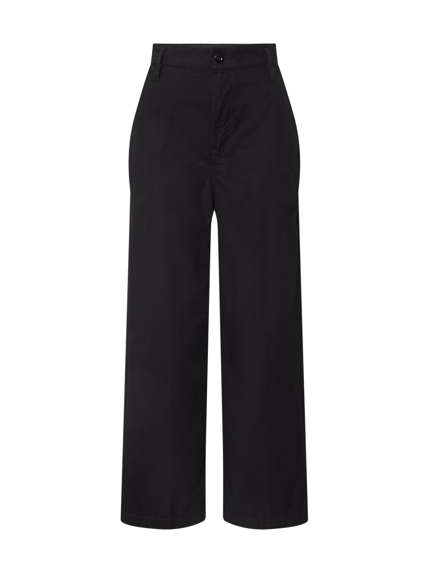 G-Star RAW Chino stiliaus kelnės 'Vitrif' juoda