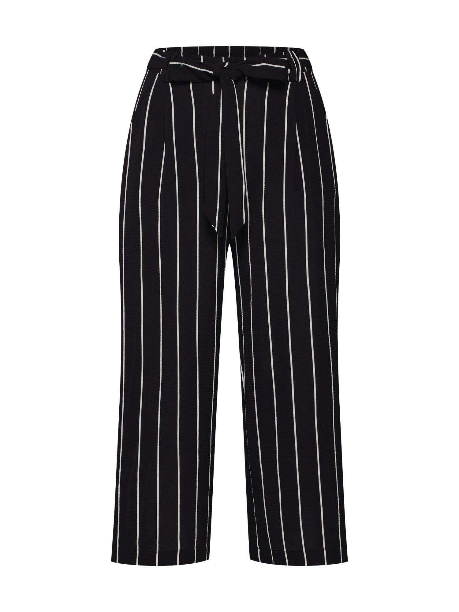 Kalhoty WINNER černá bílá ONLY