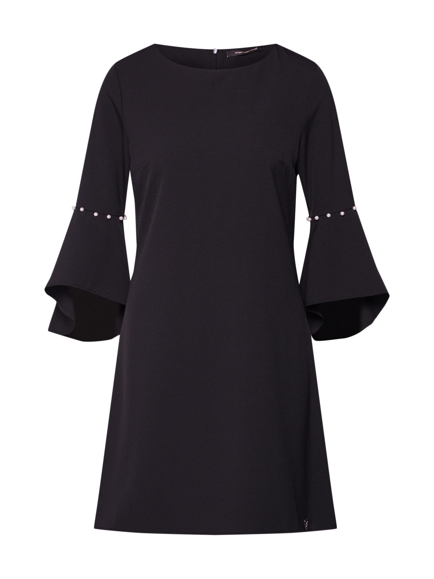 Šaty SETH černá Fornarina