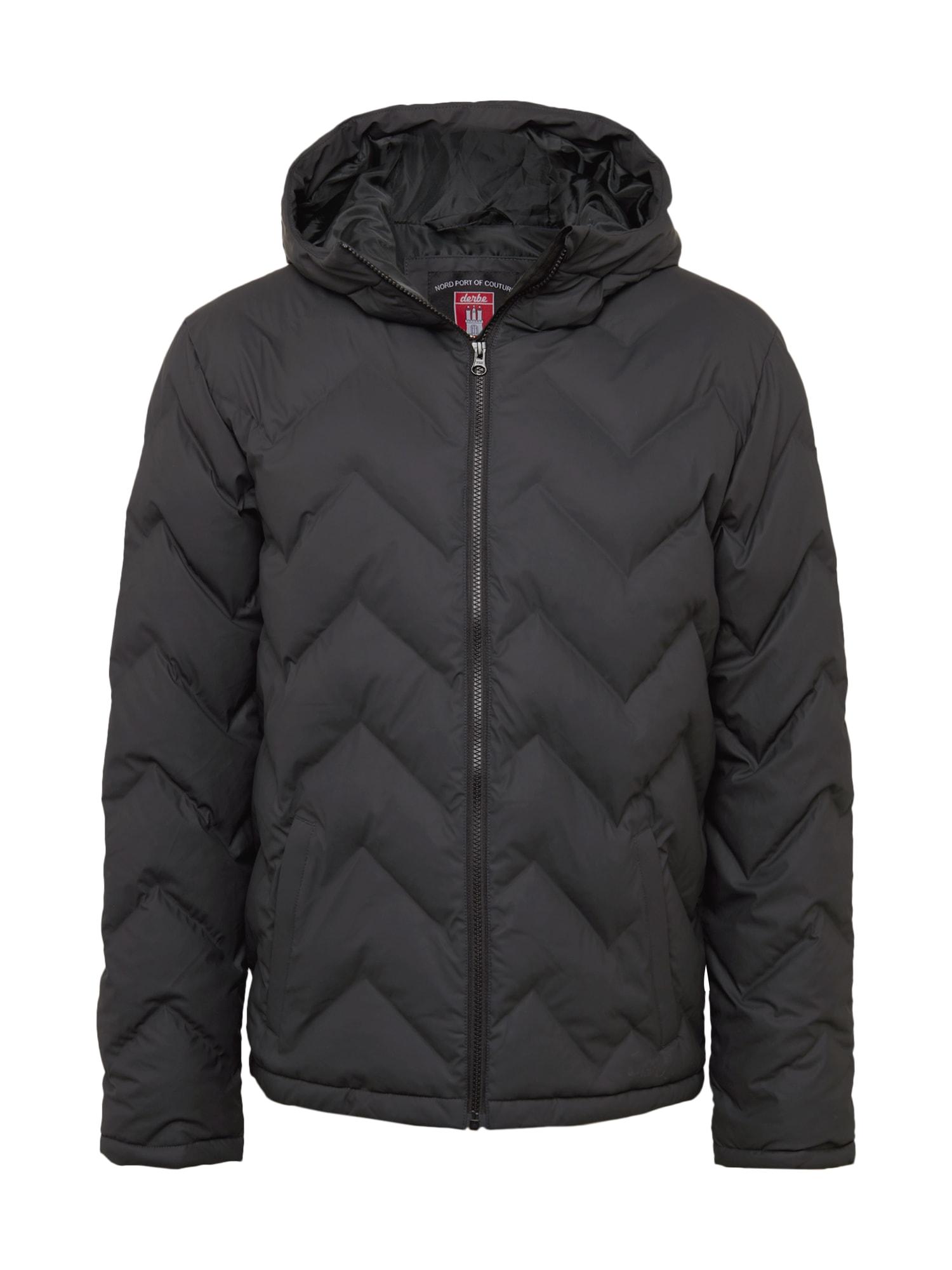 Derbe Žieminė striukė 'Interlink Boys' tamsiai pilka