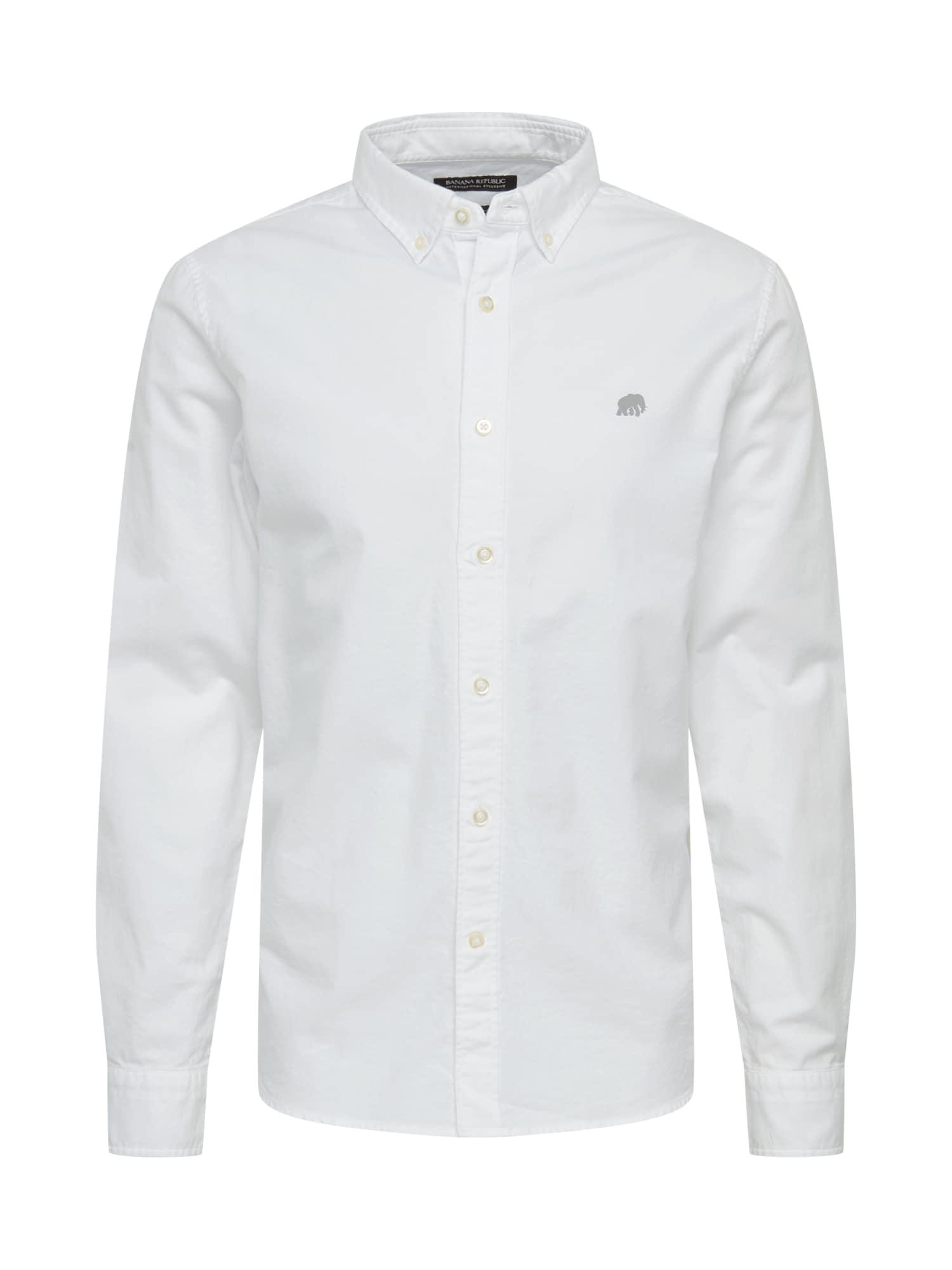Banana Republic Dalykiniai marškiniai 'SOLID' balta