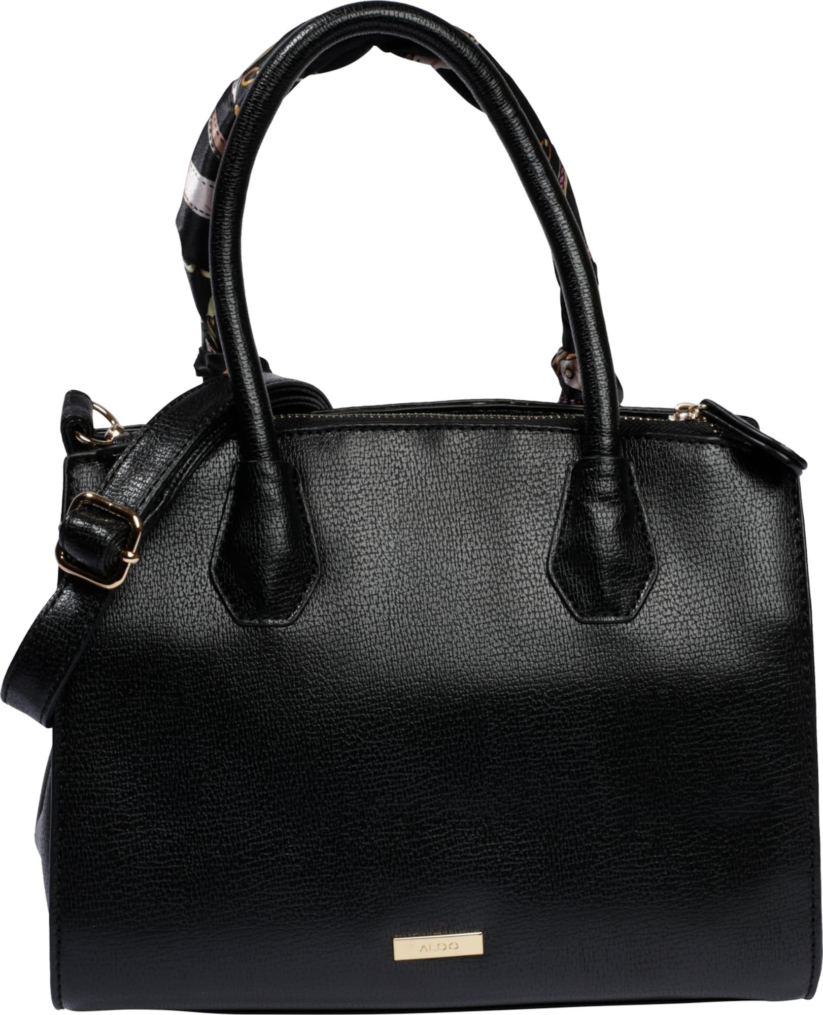 aldo handtasche 39 doavia 39 in leder optik in schwarz about you. Black Bedroom Furniture Sets. Home Design Ideas