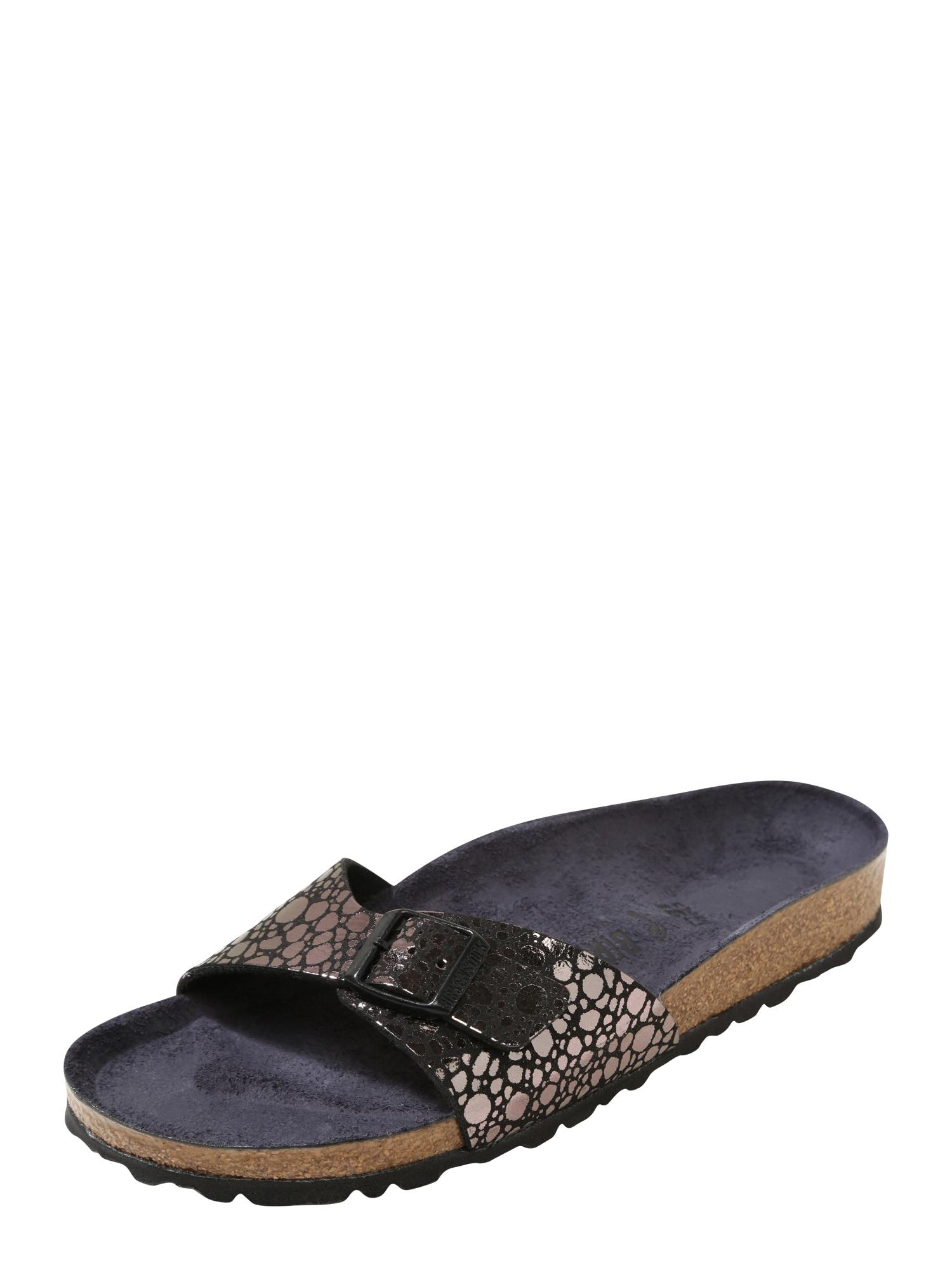 Pantofle Madrid noční modrá černá BIRKENSTOCK