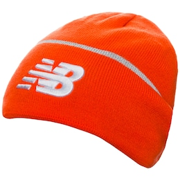 New Balance Damen Team Beanie orange,weiß | 00190325398828