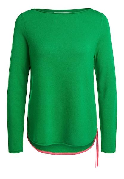 Oberteile für Frauen - OUI Pullover grün  - Onlineshop ABOUT YOU