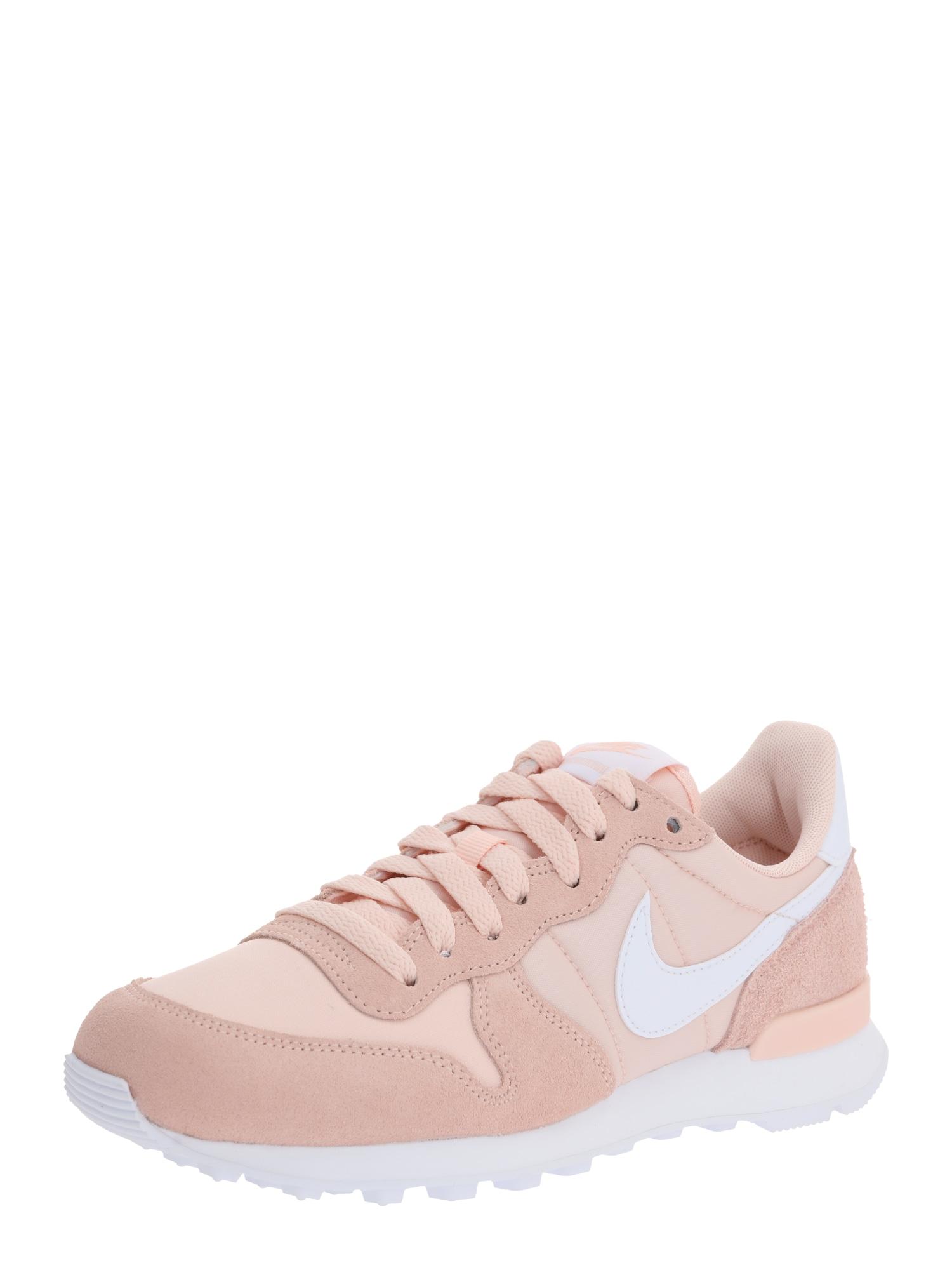 Nike Sportswear Nízke tenisky 'Internationalist'  ružová / biela