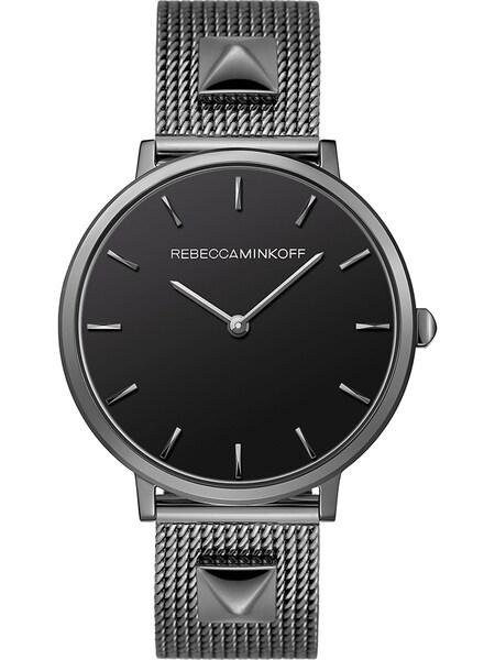 Uhren für Frauen - Rebecca Minkoff Uhr 'Major 2200004' dunkelgrau graumeliert schwarz  - Onlineshop ABOUT YOU