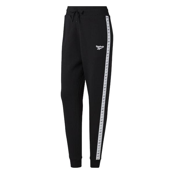 Hosen für Frauen - Jogginghose 'Classics Vector' › Reebok Classic › schwarz weiß  - Onlineshop ABOUT YOU