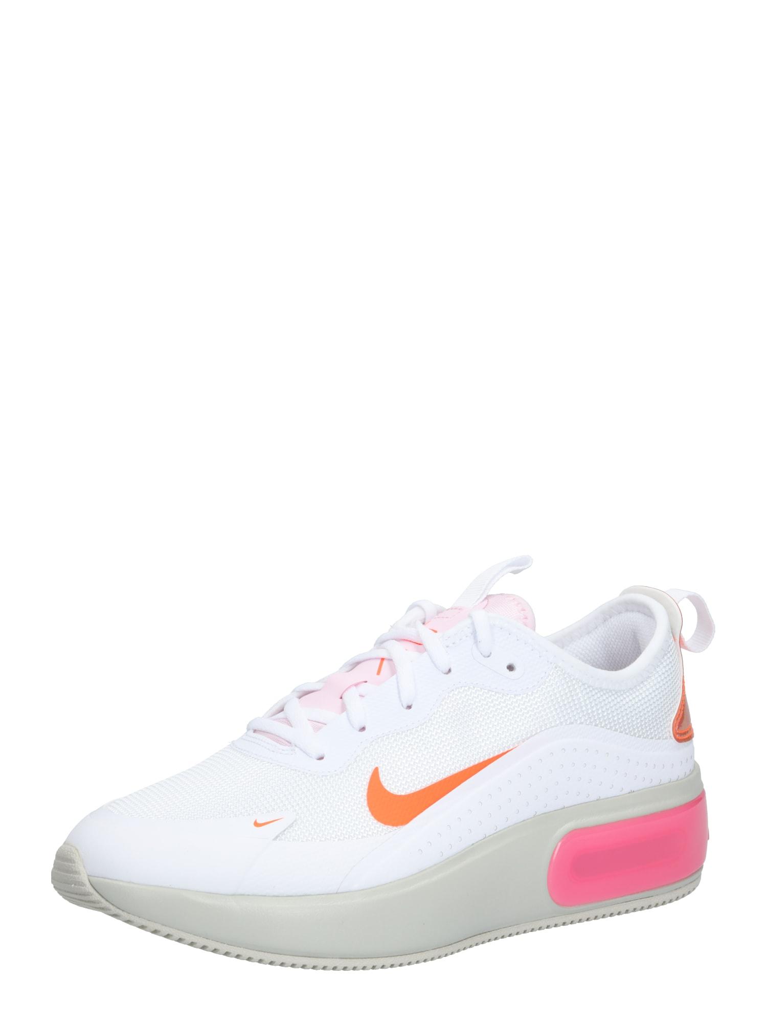 NIKE Sportiniai batai 'Air Max Dia' balta / rožinė