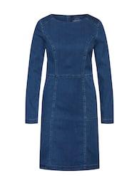 EDC BY ESPRIT,Esprit Damen Kleid dress midi Dresses denim blau | 04061355145996