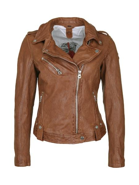 Jacken für Frauen - Gipsy Lederjacke cognac  - Onlineshop ABOUT YOU