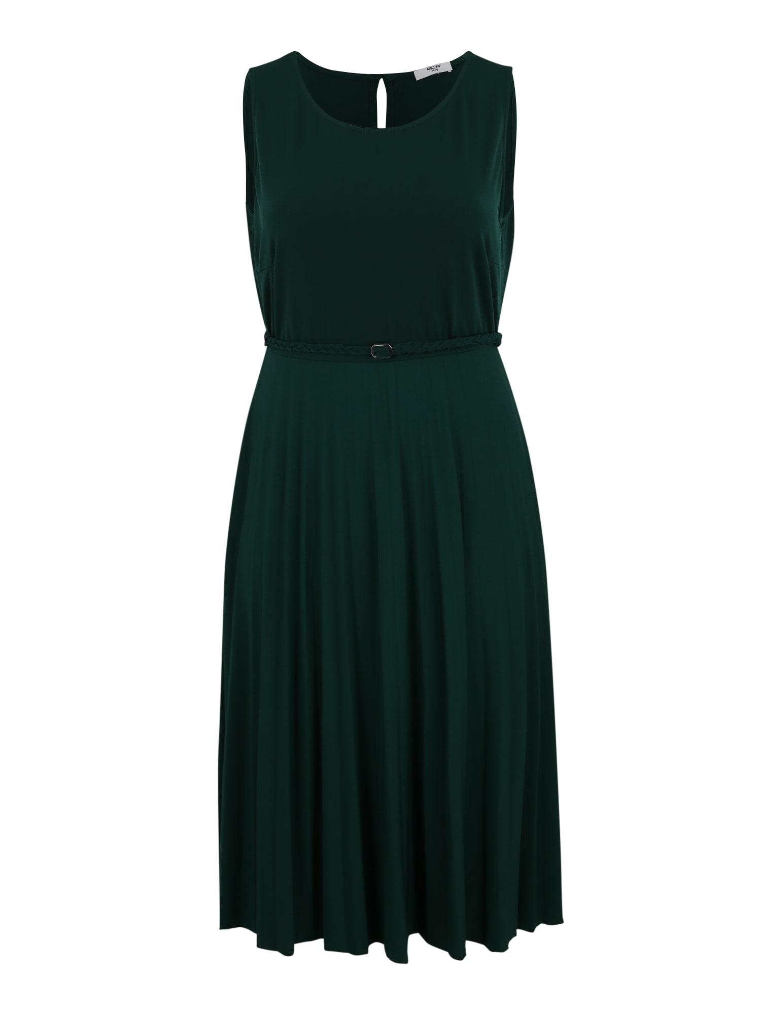 Šaty Gwen zelená ABOUT YOU Curvy