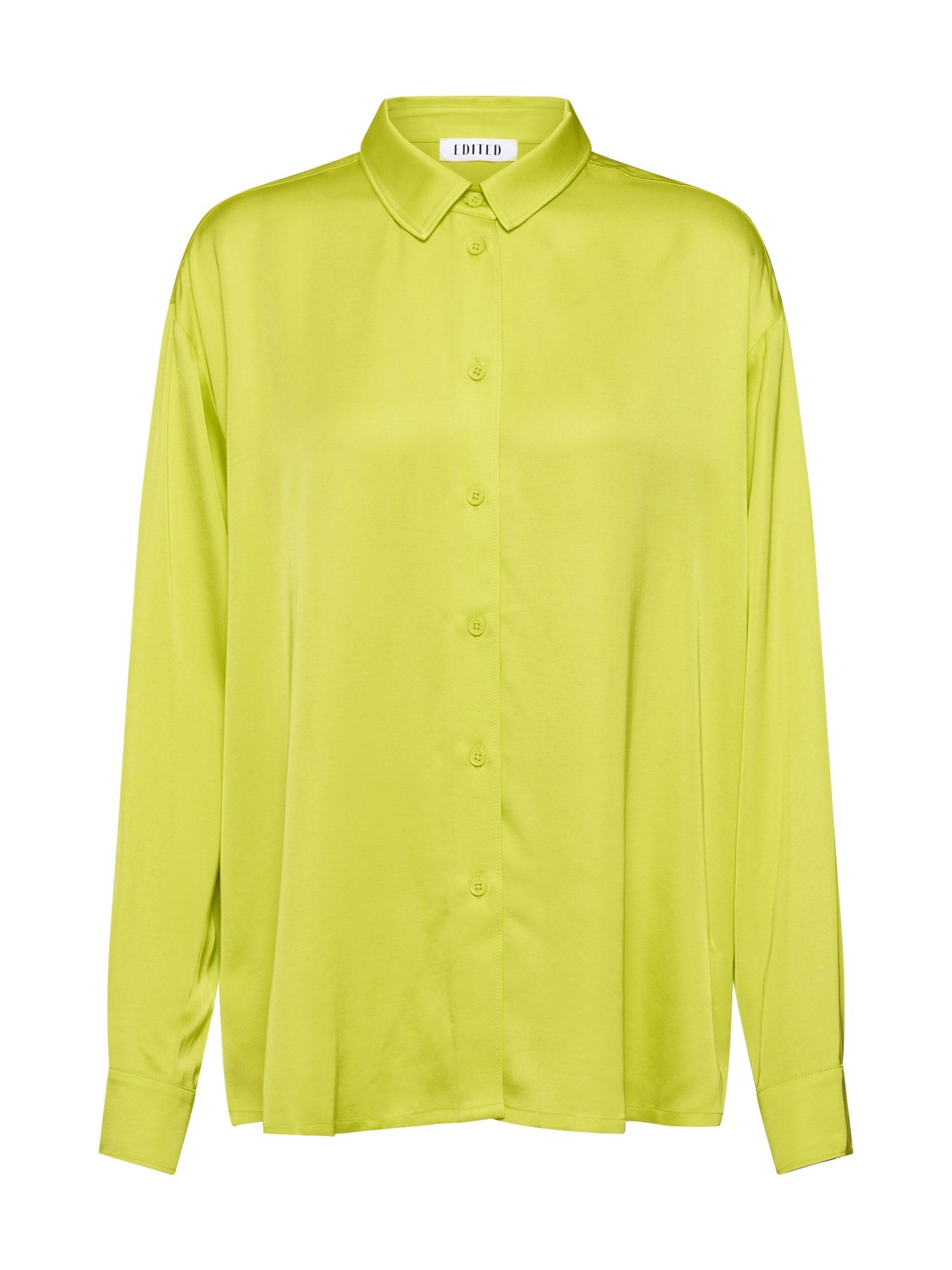 EDITED Palaidinė 'Yve Shirt' geltona