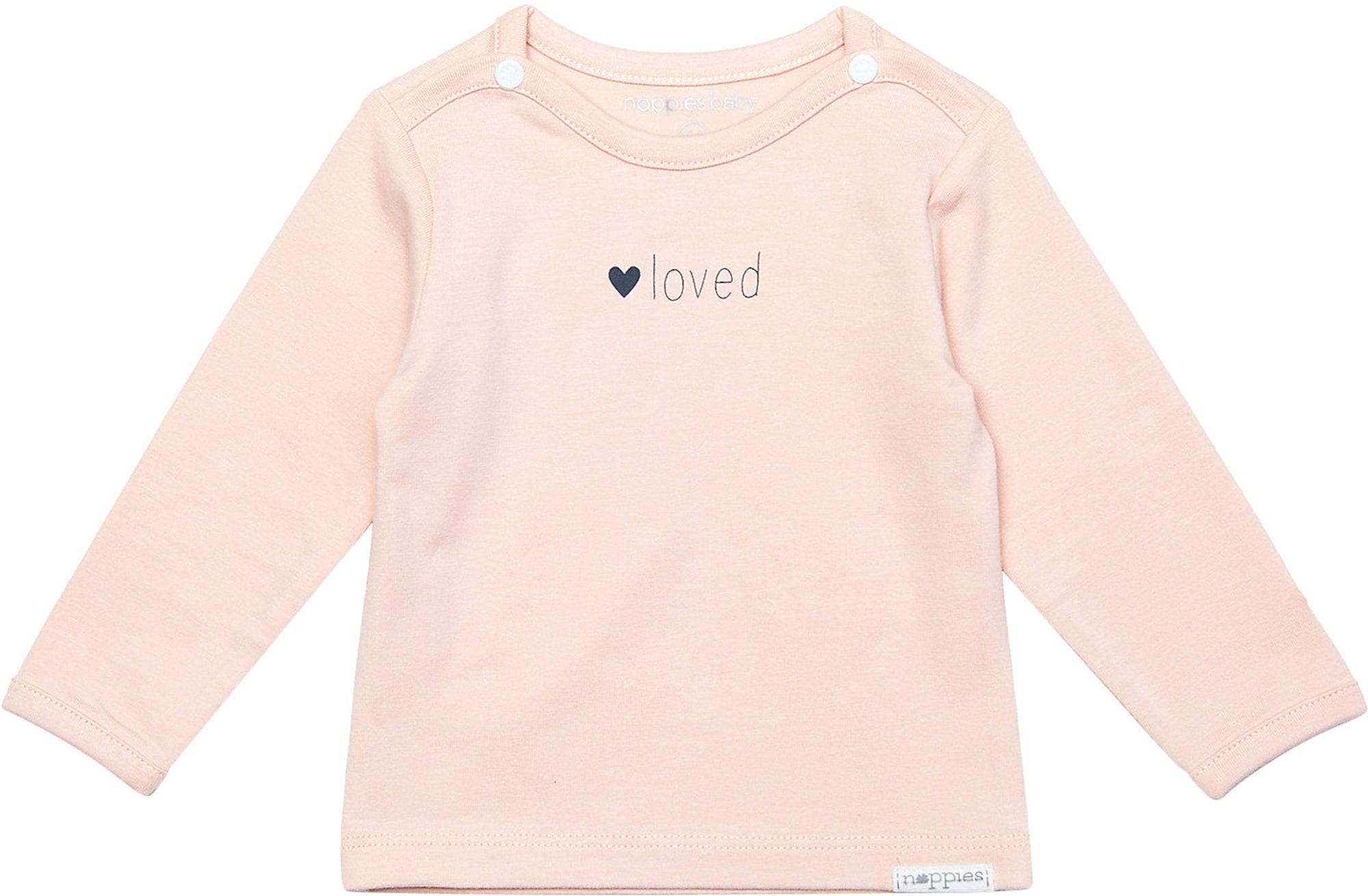 Noppies Marškinėliai 'Yvon' rožių spalva