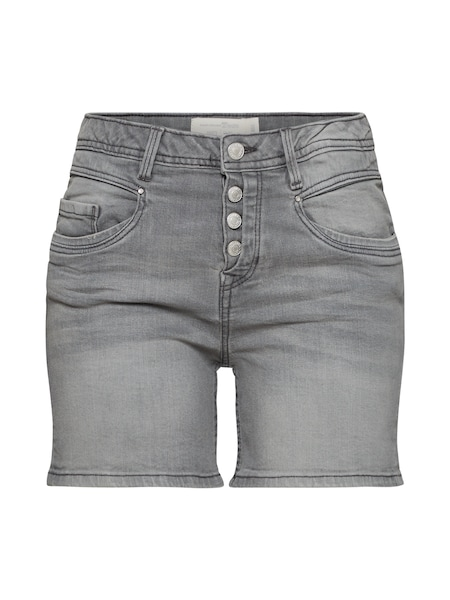 Hosen für Frauen - TOM TAILOR DENIM Shorts hellgrau  - Onlineshop ABOUT YOU