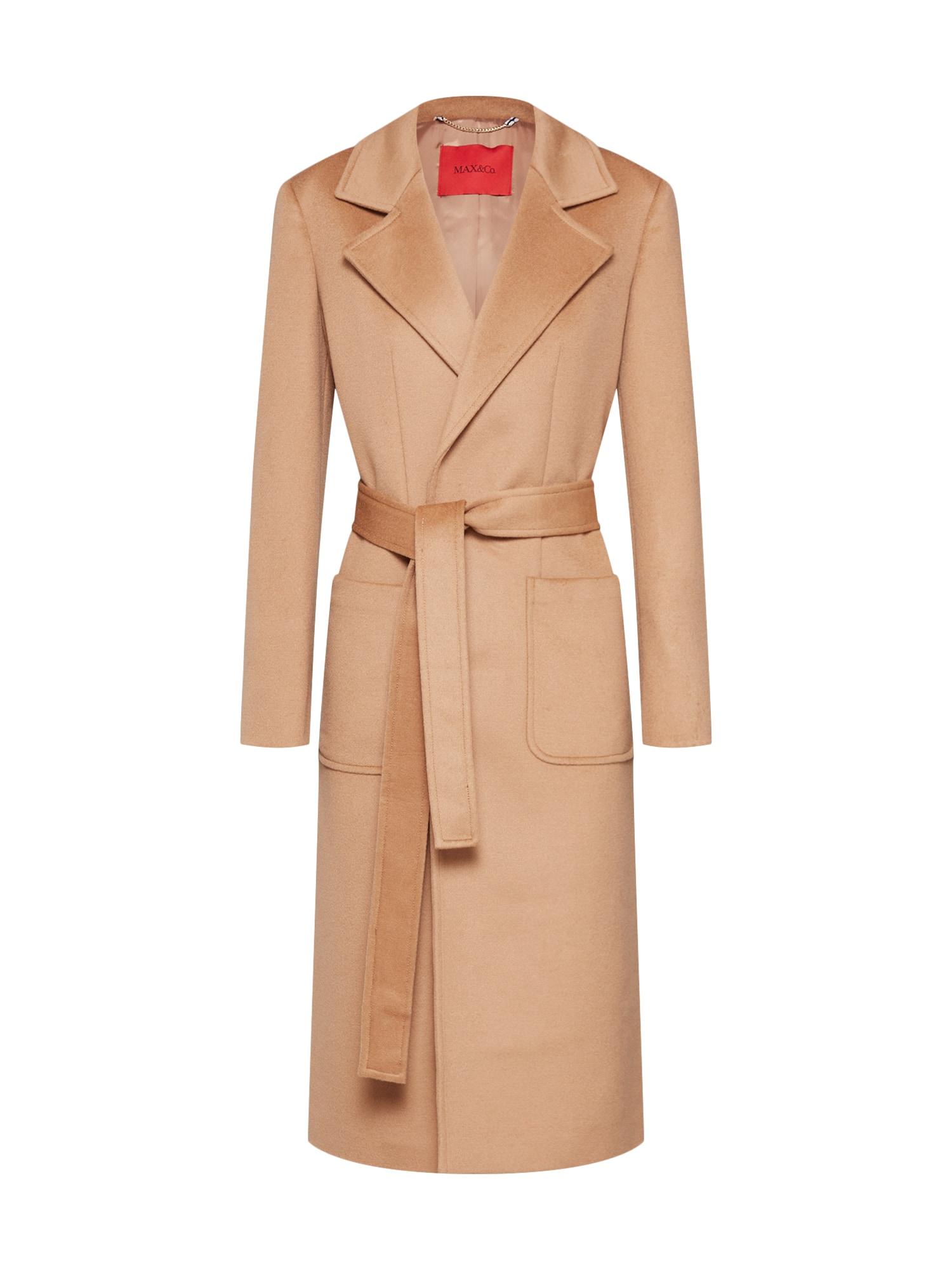MAX&Co. Rudeninis-žieminis paltas 'RUNAWAY' smėlio