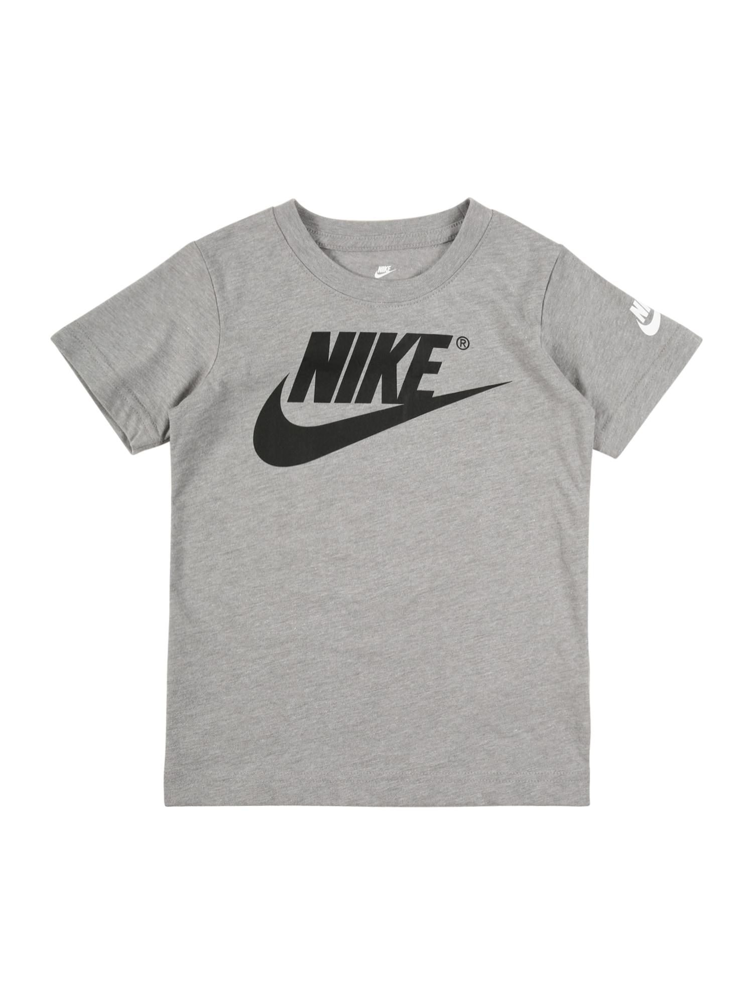 Nike Sportswear Tričko 'The Futura is Mine'  šedá