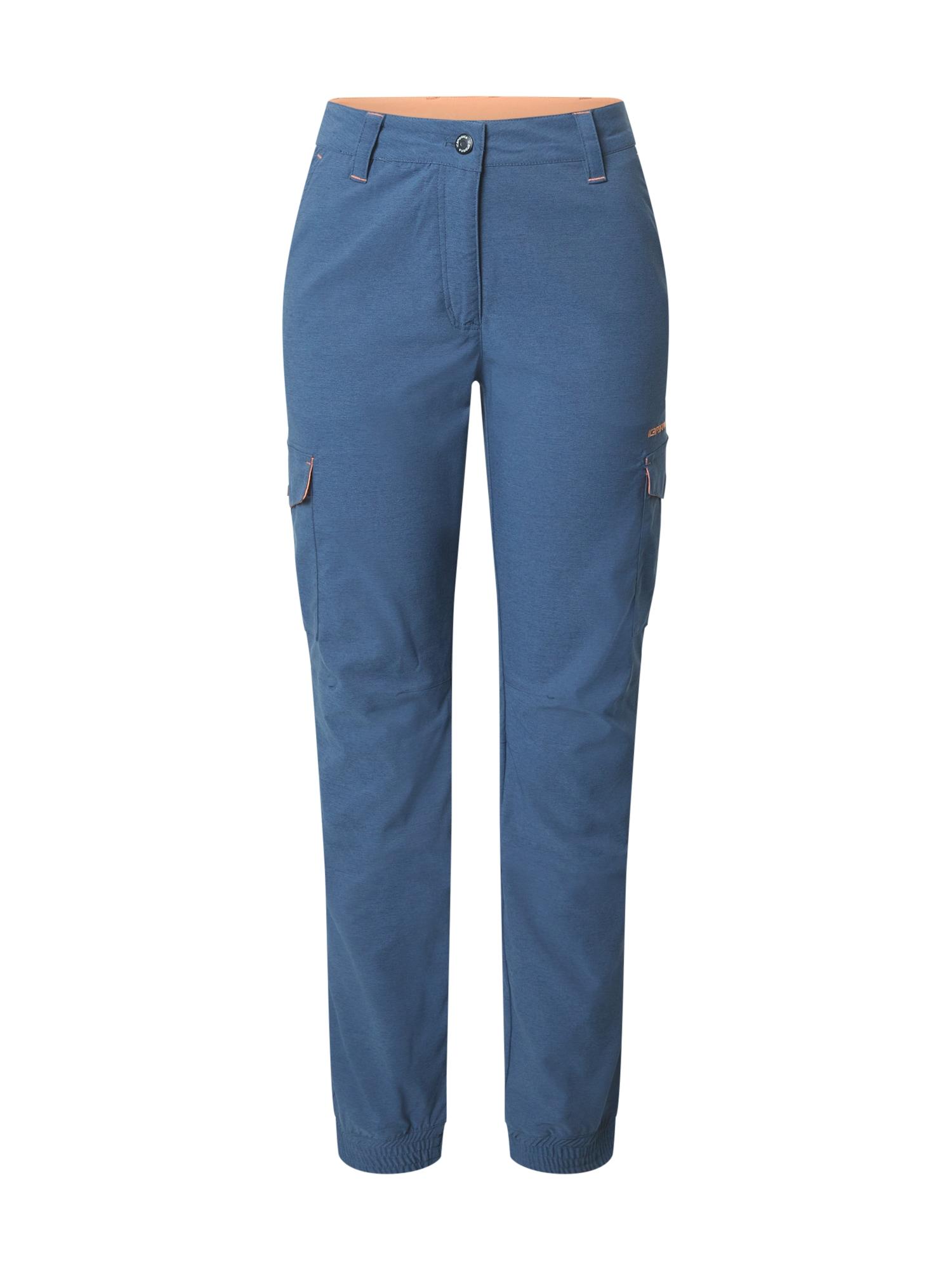 ICEPEAK Sportovní kalhoty 'CAROGA'  chladná modrá