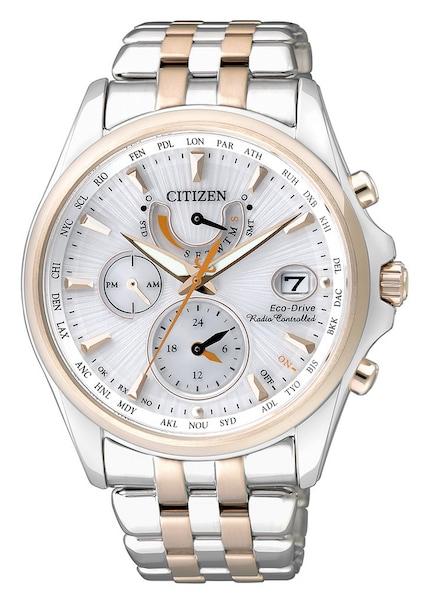 Uhren für Frauen - CITIZEN Funkmultifunktionsuhr 'FC0014 54A' gold silber  - Onlineshop ABOUT YOU