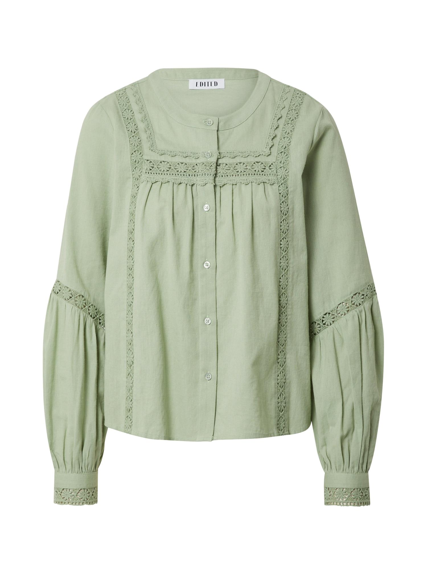 EDITED Palaidinė 'Spencer' turkio spalva / žalia