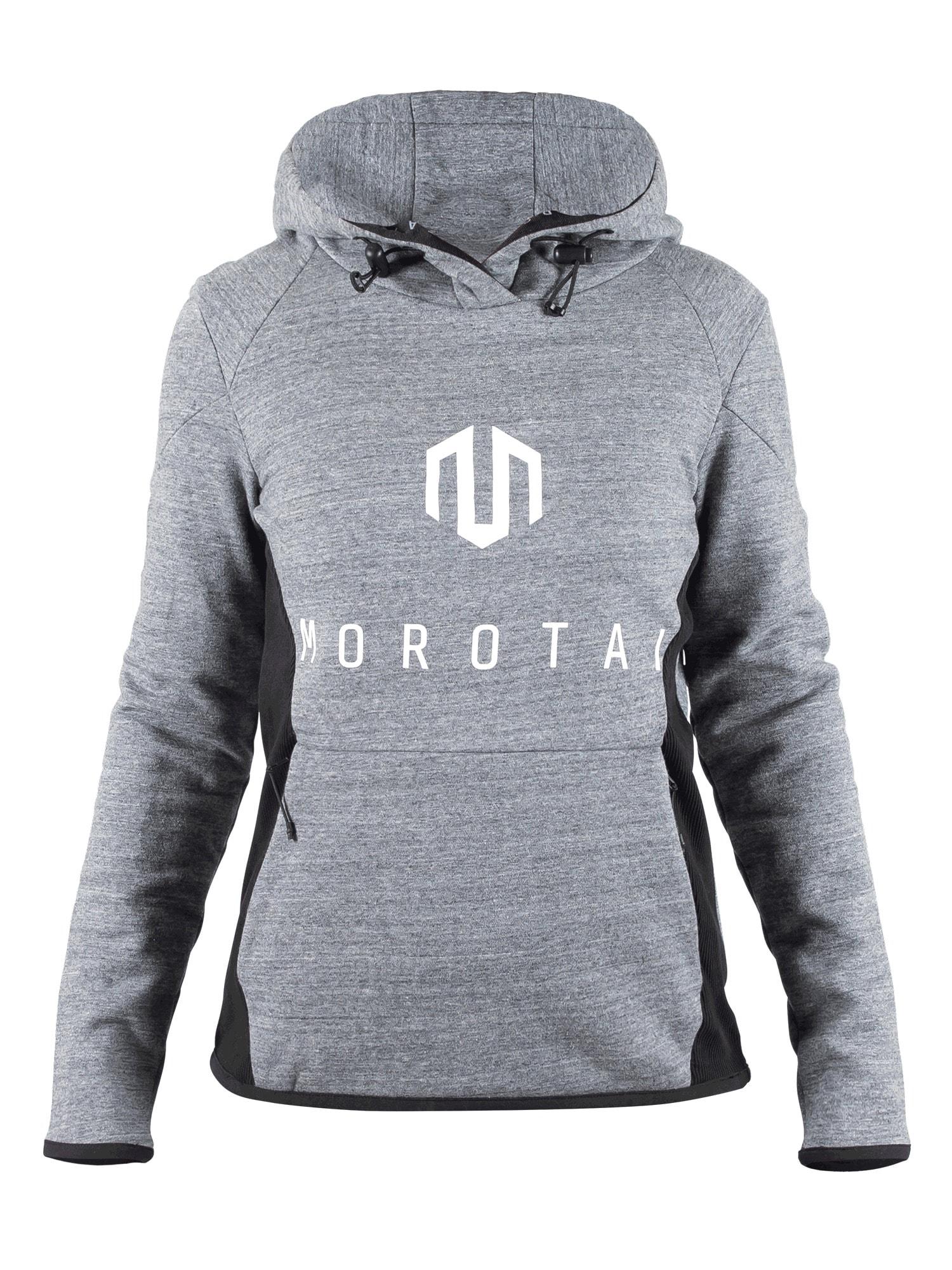 MOROTAI Sportinis megztinis pilka / juoda